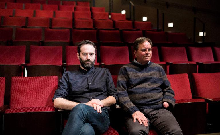 Dan O'Brien (L) and Paul Watson (R)